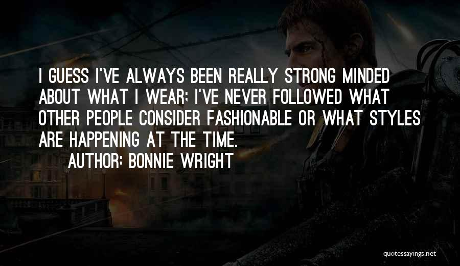 Time Never Quotes By Bonnie Wright