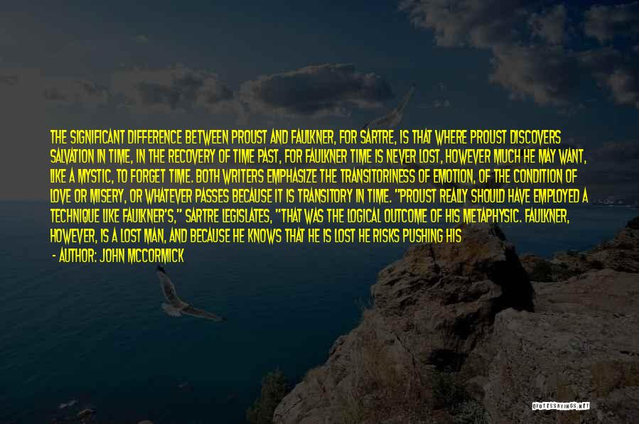 Time Never Quotes By John McCormick