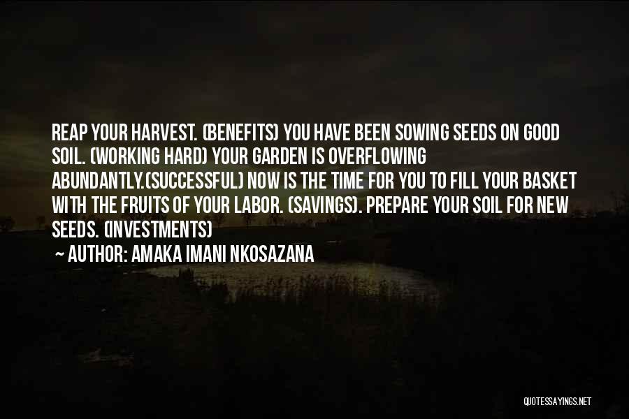 Time Savings Quotes By Amaka Imani Nkosazana