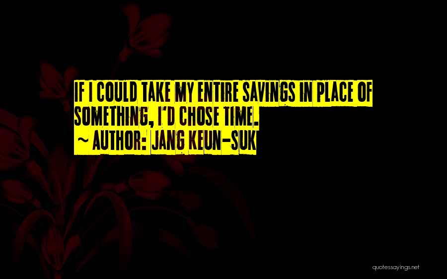 Time Savings Quotes By Jang Keun-suk