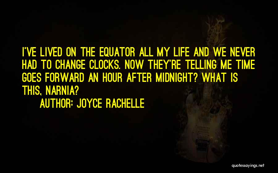 Time Savings Quotes By Joyce Rachelle