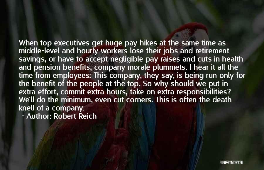 Time Savings Quotes By Robert Reich