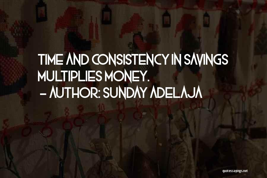 Time Savings Quotes By Sunday Adelaja