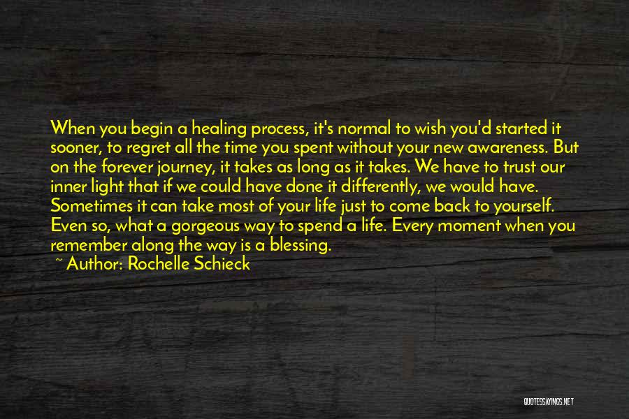 Time Spent Without You Quotes By Rochelle Schieck