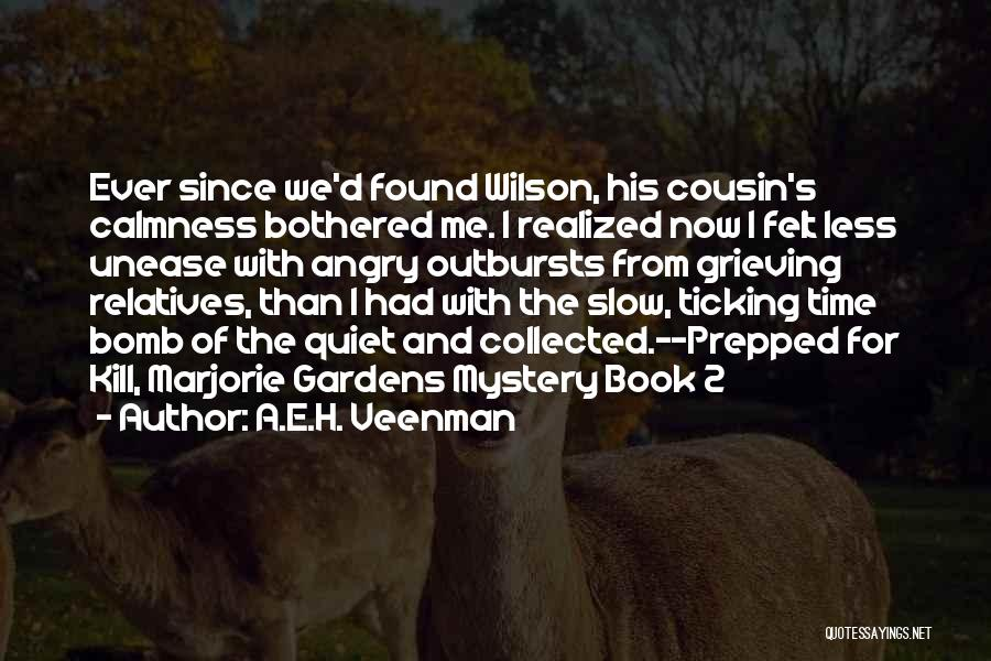 Time Ticking Quotes By A.E.H. Veenman
