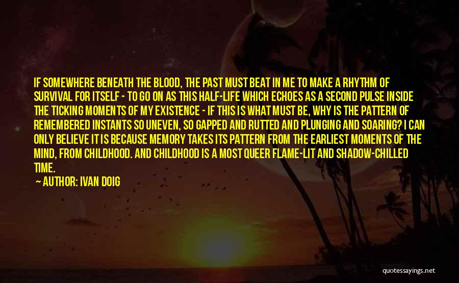 Time Ticking Quotes By Ivan Doig
