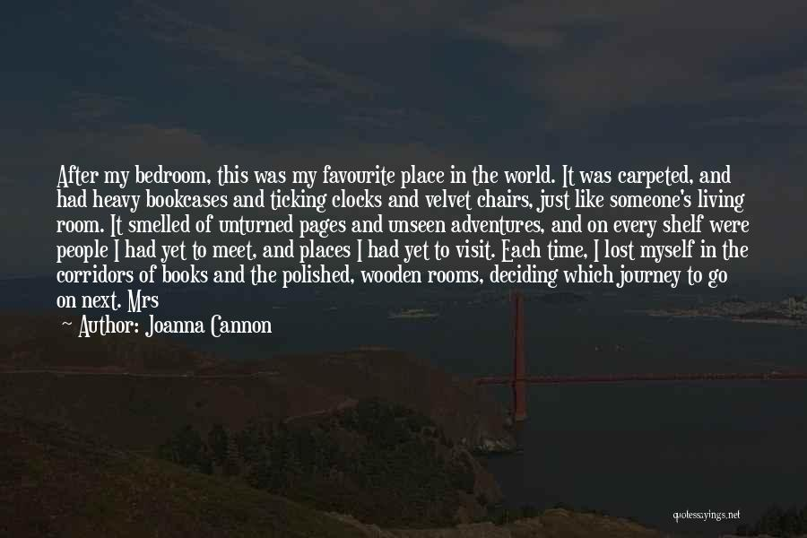 Time Ticking Quotes By Joanna Cannon