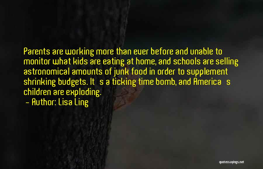 Time Ticking Quotes By Lisa Ling