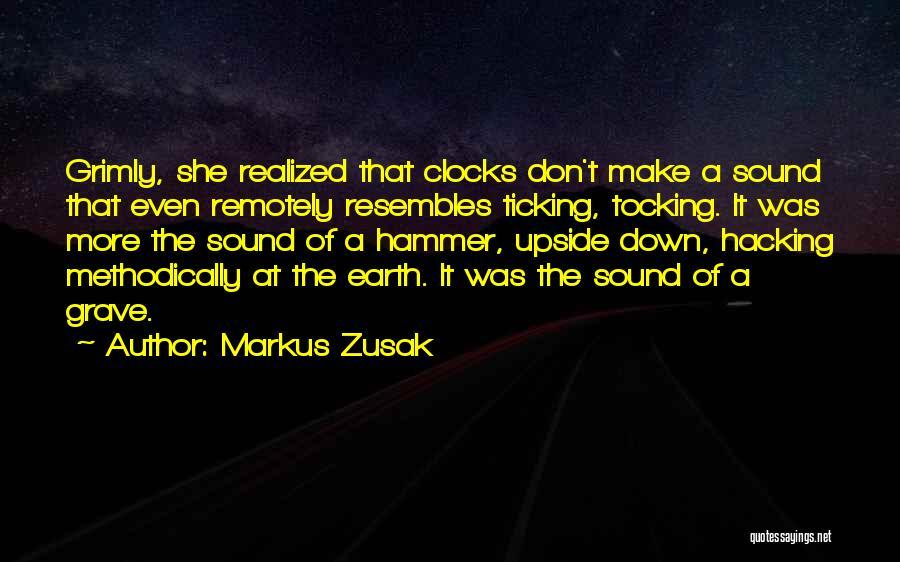 Time Ticking Quotes By Markus Zusak