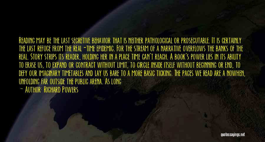 Time Ticking Quotes By Richard Powers