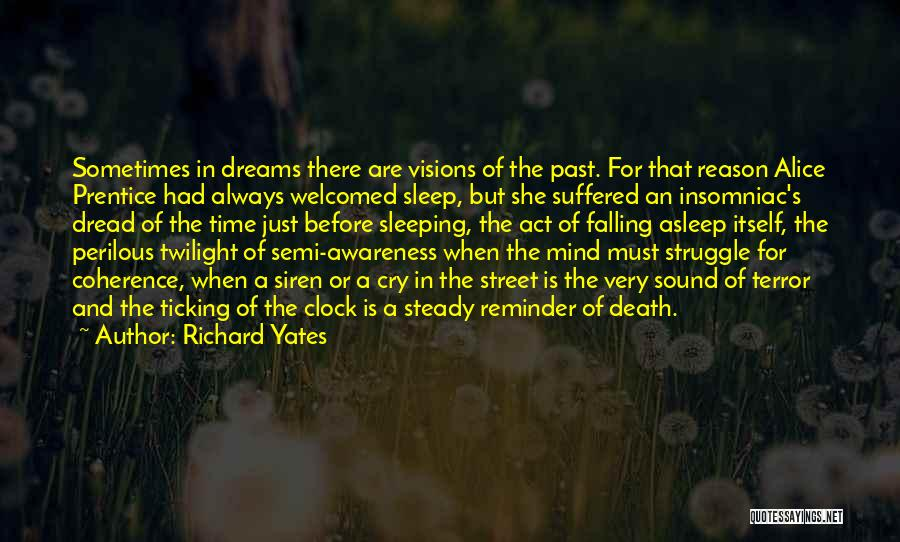 Time Ticking Quotes By Richard Yates