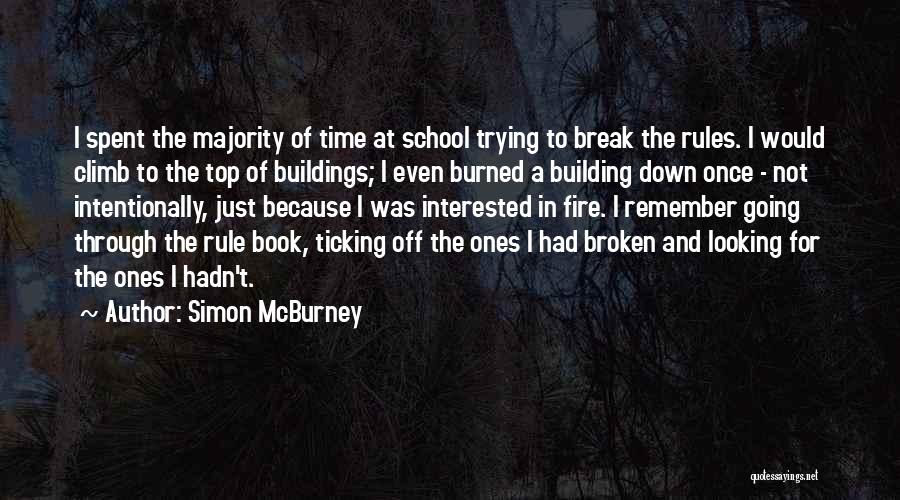 Time Ticking Quotes By Simon McBurney