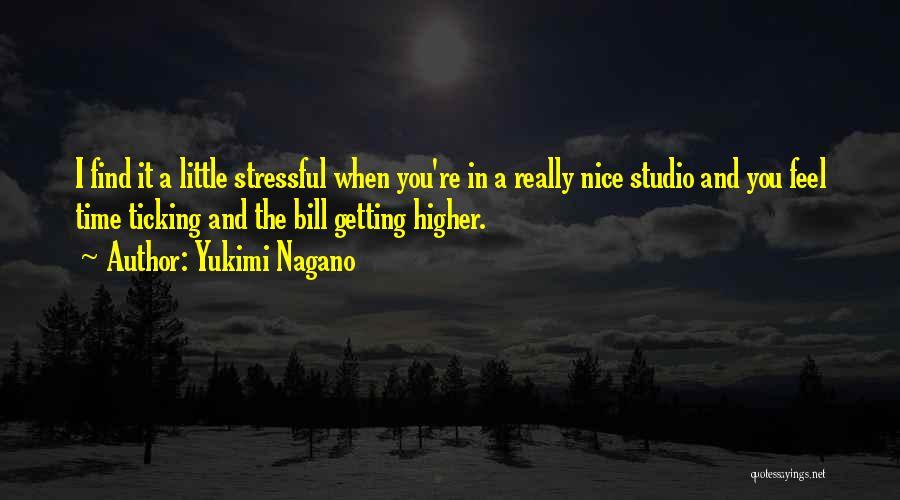 Time Ticking Quotes By Yukimi Nagano
