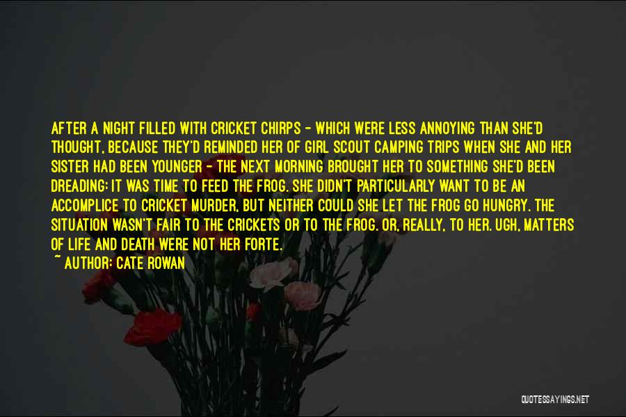 Time To Let Her Go Quotes By Cate Rowan
