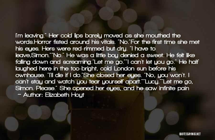 Time To Let Her Go Quotes By Elizabeth Hoyt