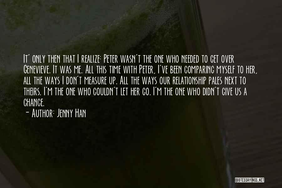 Time To Let Her Go Quotes By Jenny Han