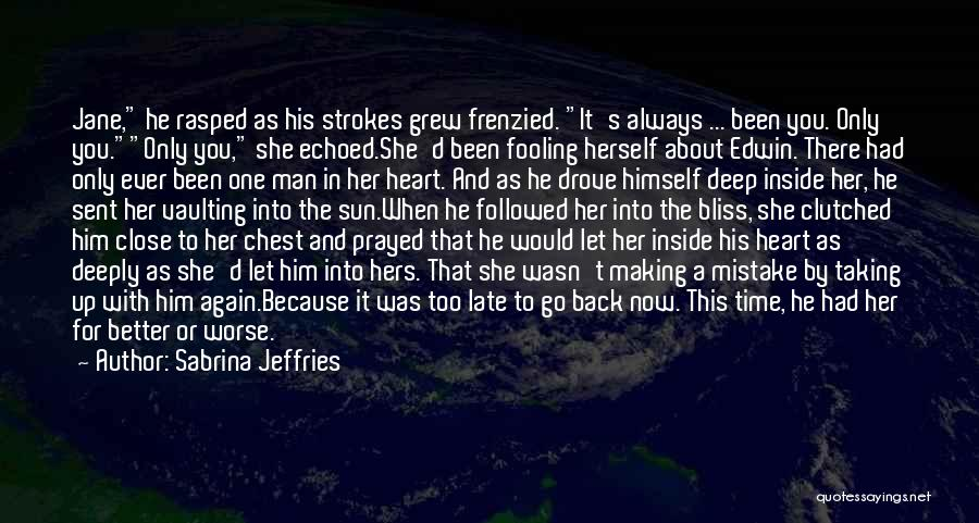 Time To Let Her Go Quotes By Sabrina Jeffries