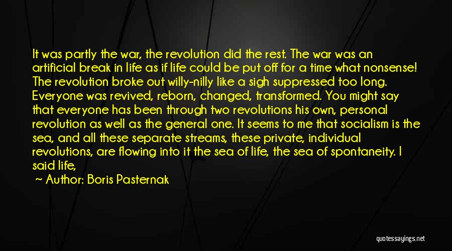 Time To Rest Quotes By Boris Pasternak
