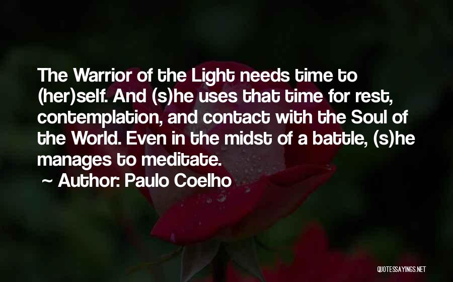 Time To Rest Quotes By Paulo Coelho