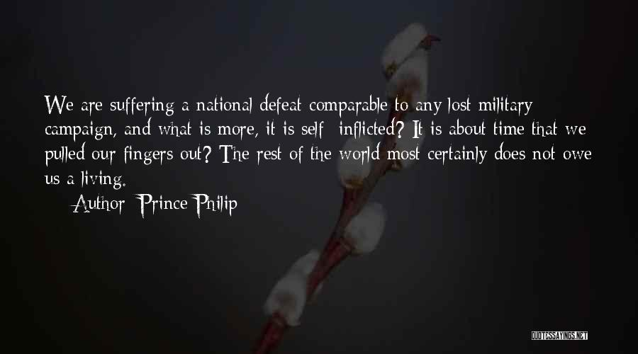 Time To Rest Quotes By Prince Philip