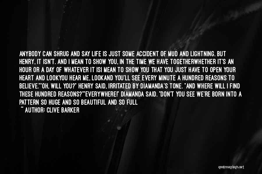 Time With Meaning Quotes By Clive Barker