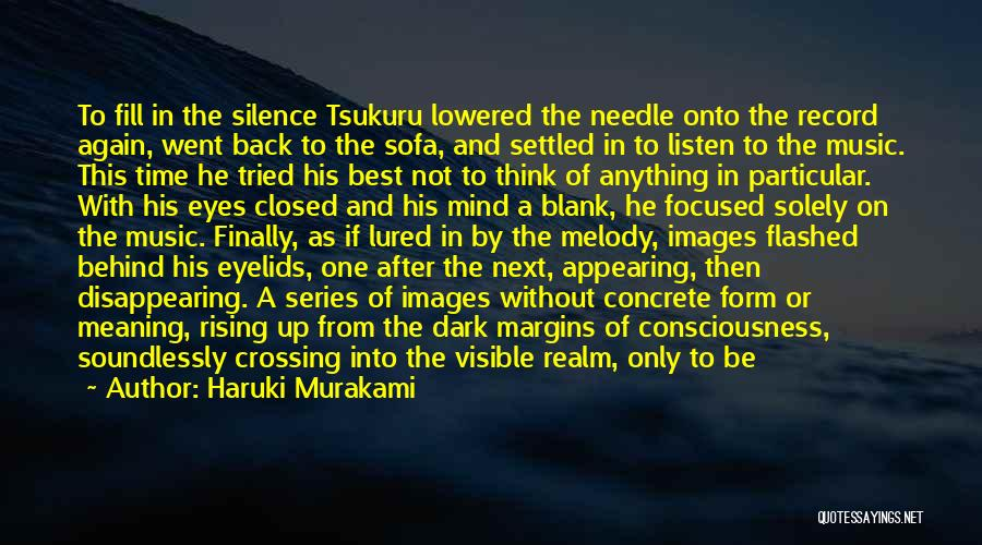 Time With Meaning Quotes By Haruki Murakami
