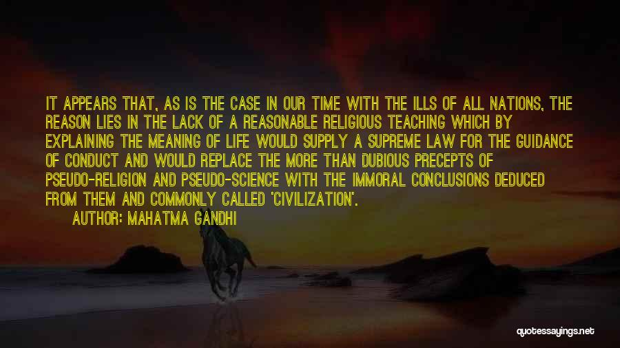 Time With Meaning Quotes By Mahatma Gandhi