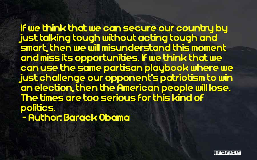 Times Are Tough Quotes By Barack Obama