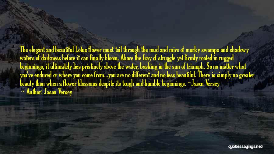 Times Are Tough Quotes By Jason Versey