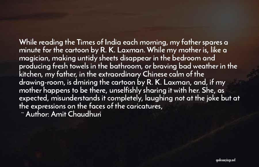 Times Of India Quotes By Amit Chaudhuri