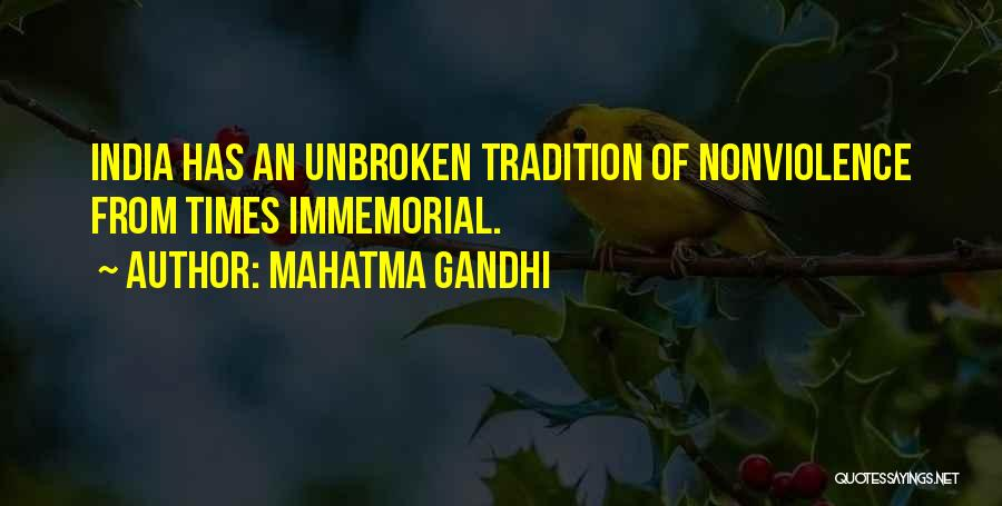 Times Of India Quotes By Mahatma Gandhi