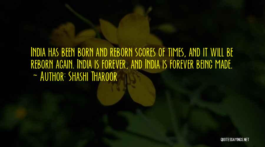 Times Of India Quotes By Shashi Tharoor