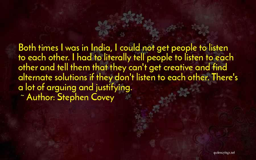 Times Of India Quotes By Stephen Covey