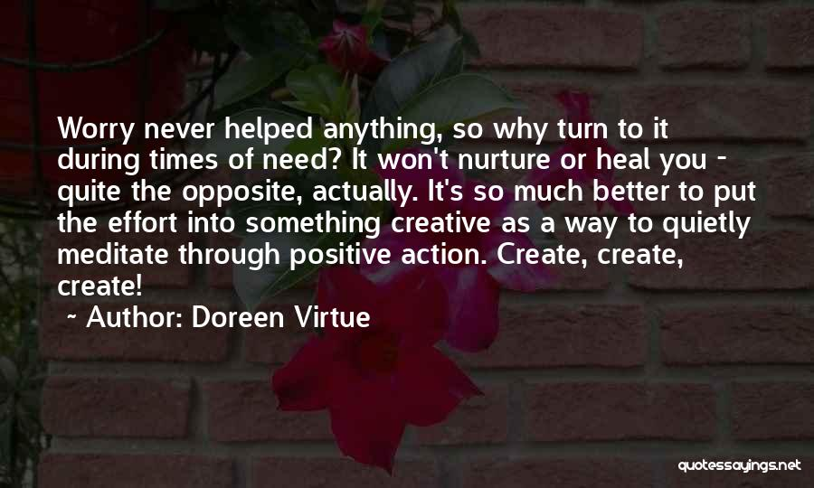 Times Of Need Quotes By Doreen Virtue