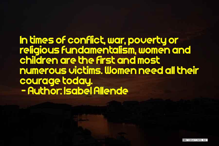 Times Of Need Quotes By Isabel Allende