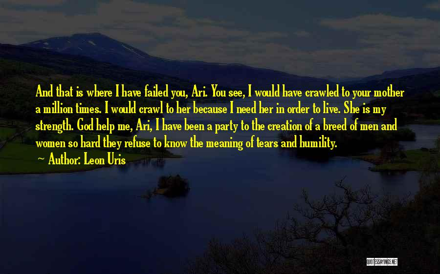 Times Of Need Quotes By Leon Uris