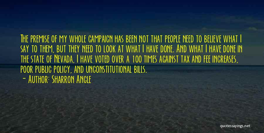 Times Of Need Quotes By Sharron Angle