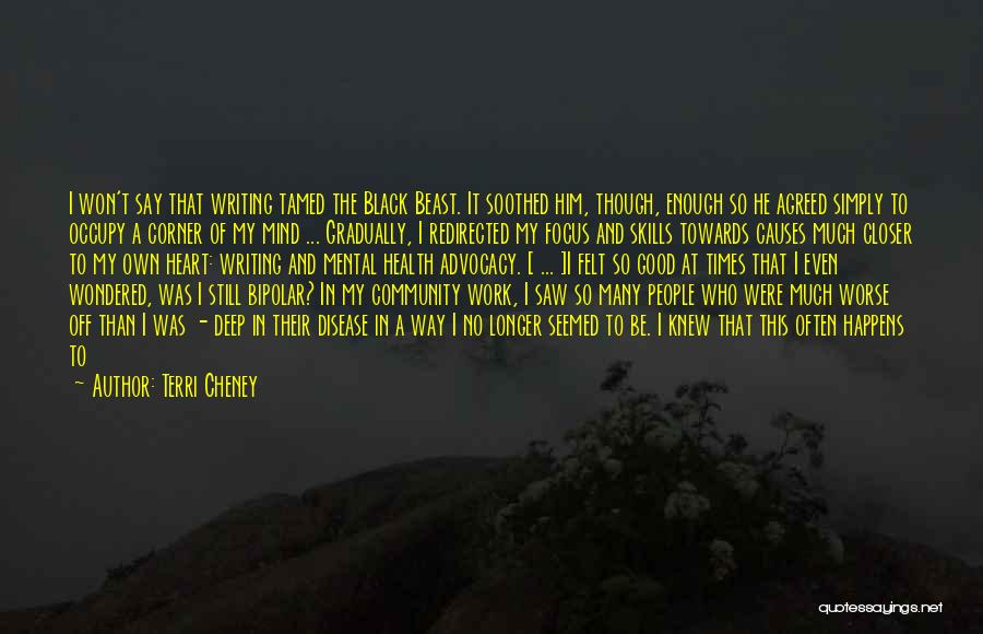 Times Of Need Quotes By Terri Cheney