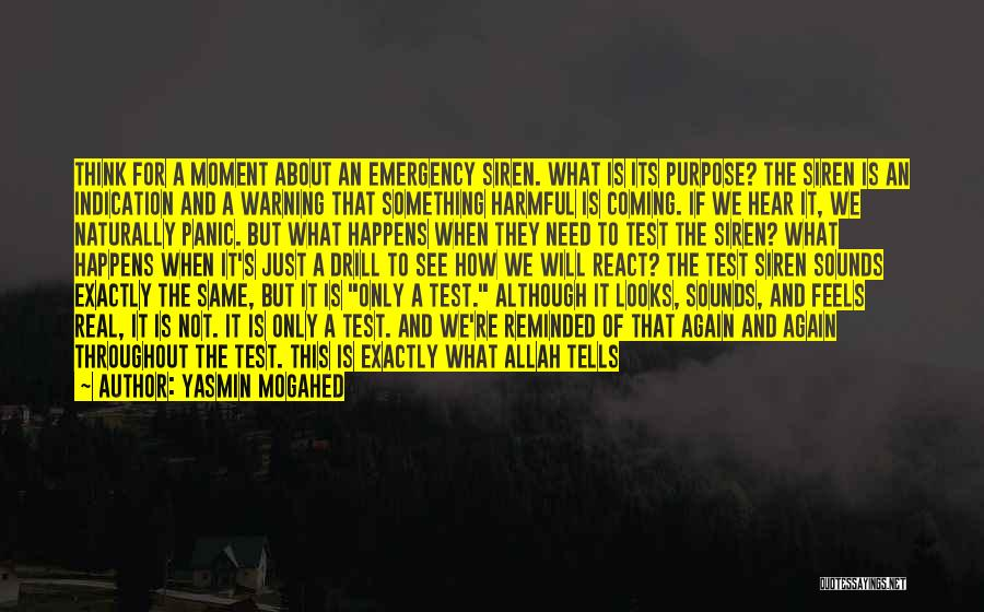 Times Of Need Quotes By Yasmin Mogahed