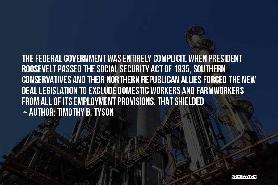 Timothy B. Tyson Quotes 1488219