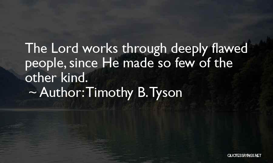 Timothy B. Tyson Quotes 297029