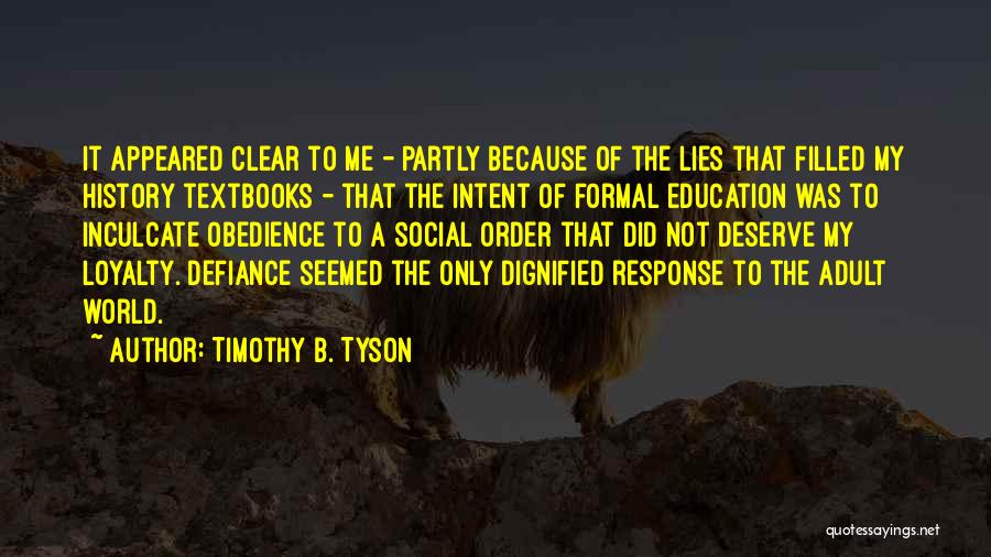 Timothy B. Tyson Quotes 680312
