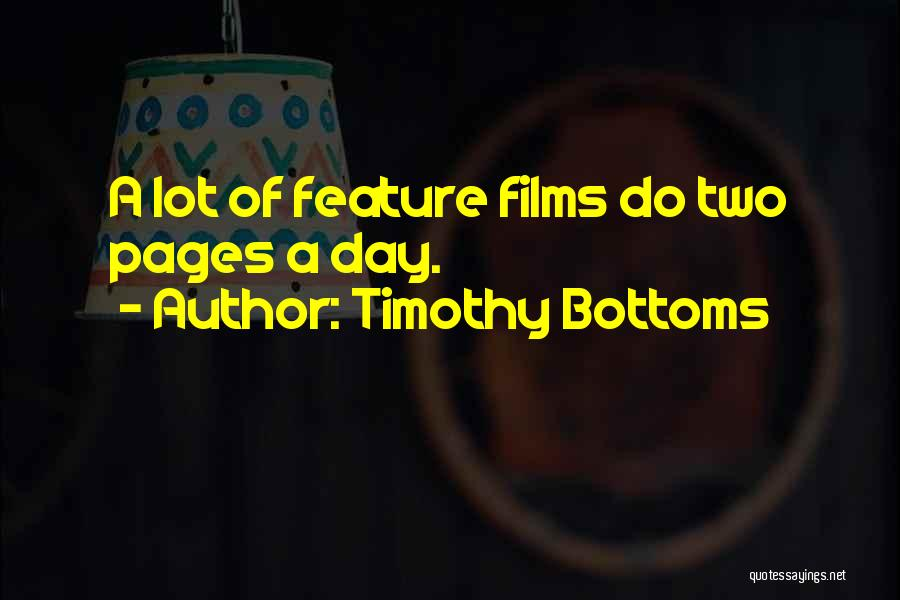 Timothy Bottoms Quotes 293714