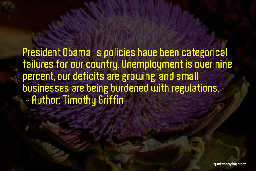 Timothy Griffin Quotes 2004961