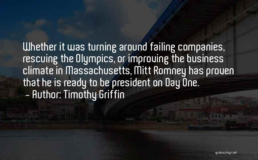Timothy Griffin Quotes 703138