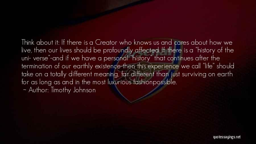 Timothy Johnson Quotes 912677