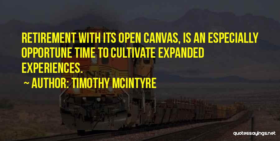Timothy McIntyre Quotes 1876134