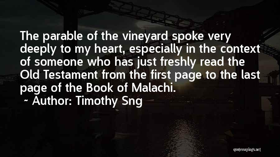 Timothy Sng Quotes 1827261