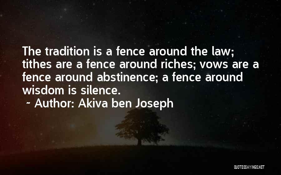 Tithes Quotes By Akiva Ben Joseph