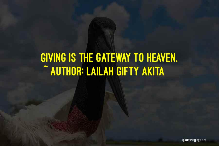 Tithes Quotes By Lailah Gifty Akita